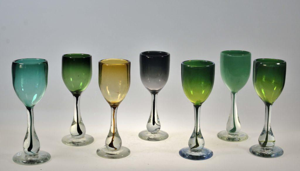 Veiniklaasid, h 23 cm