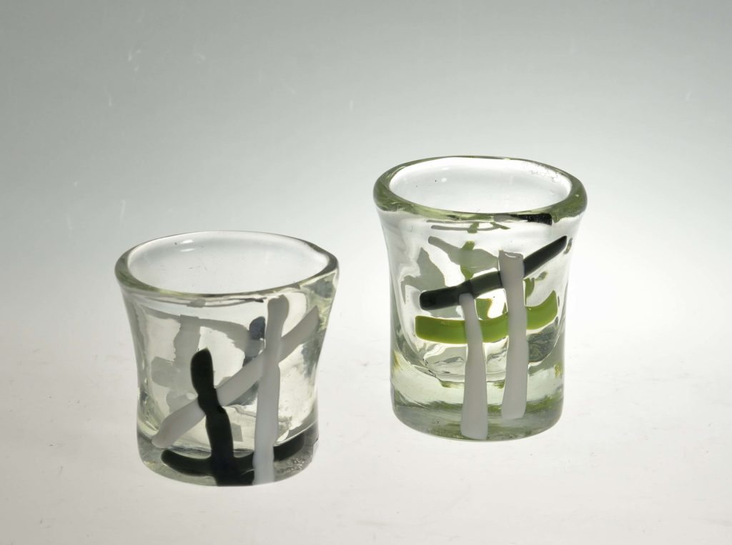 Klaasid, h 8 cm