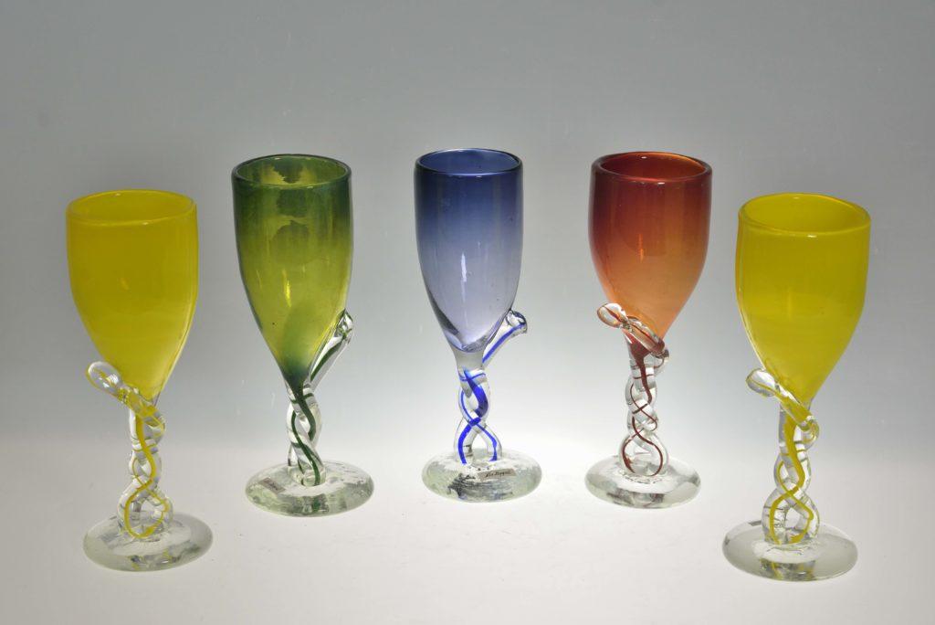 Veiniklaasid, h 21 cm